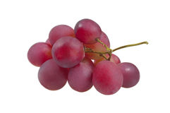 Grupo de uvas vermelhas Fotos de Stock