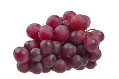 Grupo de uvas vermelhas Imagem de Stock