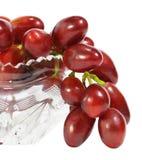 Grupo de uvas vermelhas Fotografia de Stock Royalty Free
