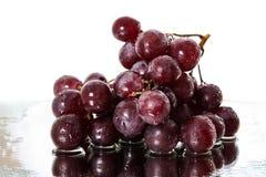 Grupo de uvas vermelhas Imagens de Stock