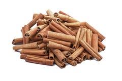 Grupo de varas de canela Fotos de Stock