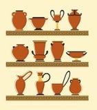 Grupo de vasos Imagem de Stock Royalty Free