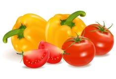 Grupo de vegetais. Fotografia de Stock Royalty Free