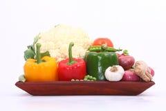 Grupo de vegetais Fotografia de Stock Royalty Free