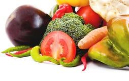 Grupo de vegetais diferentes Foto de Stock Royalty Free