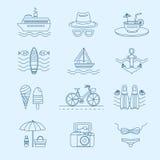 Grupo de verão Imagens de Stock