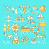 Grupo de verão Imagem de Stock