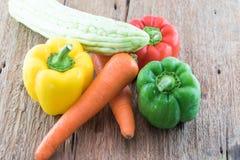 Grupo de verduras frescas Fotos de archivo