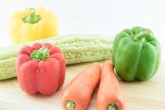 Grupo de verduras frescas Imagen de archivo