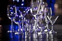 Grupo de vidros Fotografia de Stock Royalty Free