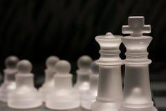 Grupo de xadrez Foto de Stock Royalty Free