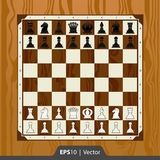 Grupo de xadrez para o projeto de relação digital do desenvolvimento do jogo ilustração do vetor