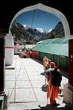Grupo del  de Ð de peregrinos hindúes Imagen de archivo