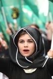 Grupo del Cáucaso del activista Fotos de archivo libres de regalías