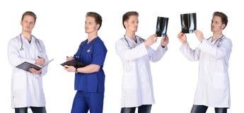 Grupo del doctor del hombre Imagen de archivo