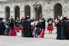 Grupo del flamenco Fotos de archivo libres de regalías