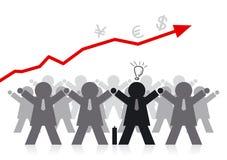 Grupo del hombre de negocios Stock de ilustración