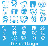 Grupo dental do logotipo Imagens de Stock Royalty Free