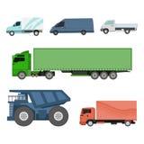 Grupo diferente do vetor do transporte dos carros Fotografia de Stock