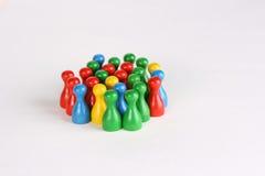 Grupo diverso Imagem de Stock
