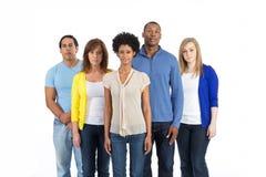 Grupo diverso de amigos Fotos de Stock Royalty Free