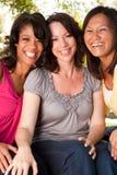 Grupo diverso de amigos Fotografia de Stock