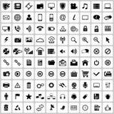 Grupo do ícone Imagens de Stock
