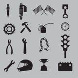 Grupo do ícone da auto competência Imagem de Stock Royalty Free