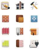 Grupo do ícone da renovação da casa. Parte 2 Imagem de Stock