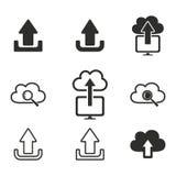 Grupo do ícone da transferência de arquivo pela rede Imagem de Stock Royalty Free
