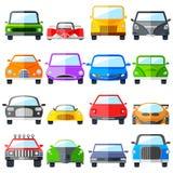 Grupo do ícone do carro Imagem de Stock Royalty Free