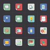 Grupo do ícone do negócio Imagem de Stock