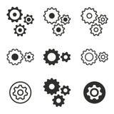 Grupo do ícone dos ajustes Imagem de Stock