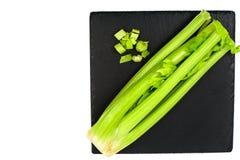 Grupo do aipo fresco do verde da haste Imagem de Stock Royalty Free