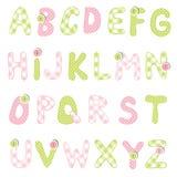 Grupo do alfabeto Fotografia de Stock Royalty Free