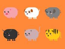 Grupo do animal Foto de Stock