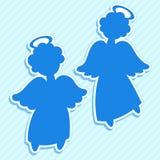 Grupo do anjo Fotografia de Stock