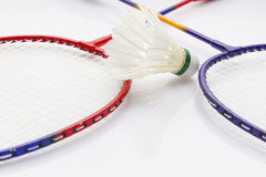 Grupo do badminton Imagem de Stock Royalty Free