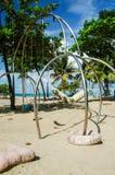 Grupo do balanço da praia Foto de Stock Royalty Free