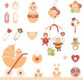 Grupo do bebê Imagens de Stock Royalty Free