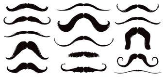 Grupo do bigode ilustração royalty free