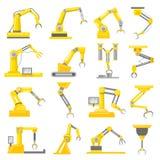 Grupo do braço mecânico Imagens de Stock