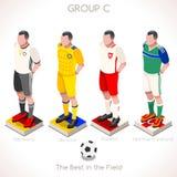 GRUPO 2016 do campeonato do EURO C Foto de Stock Royalty Free