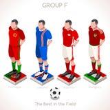 GRUPO 2016 do campeonato do EURO F Imagem de Stock