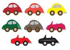 Grupo do carro desportivo Imagem de Stock