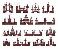 Grupo do castelo Imagem de Stock Royalty Free