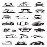 Grupo do ícone do carro Foto de Stock Royalty Free