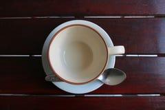 Grupo do copo de café Fotografia de Stock