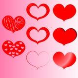Grupo do coração Fotografia de Stock