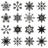 Grupo do cristal de gelo Imagem de Stock Royalty Free